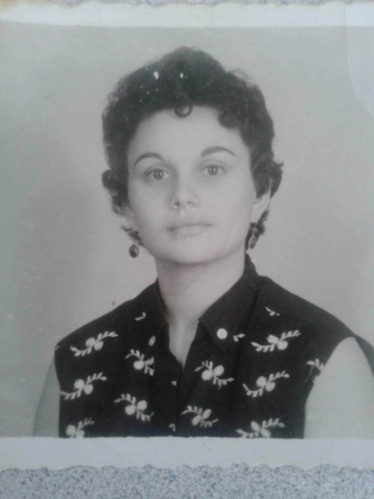 My grandmother Abby in her Hepburn days.