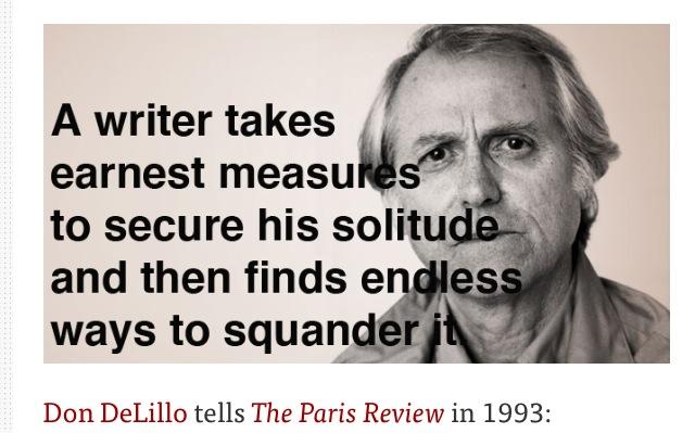 Don DeLillo Tells The Paris Review