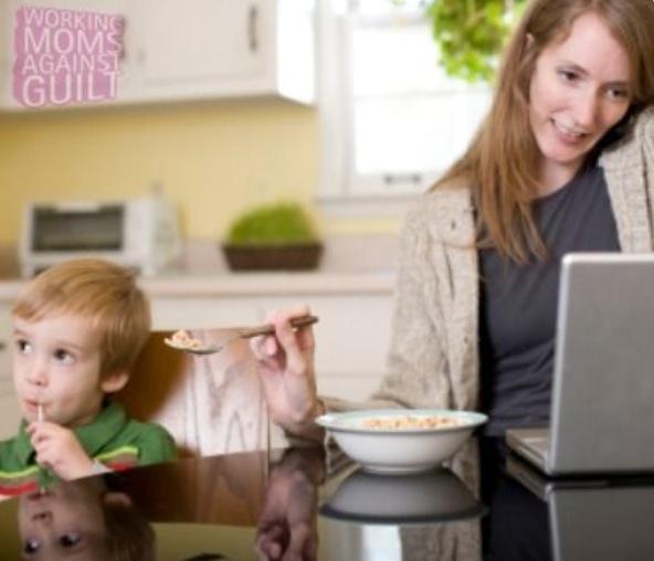 Juggling writing and motherhood